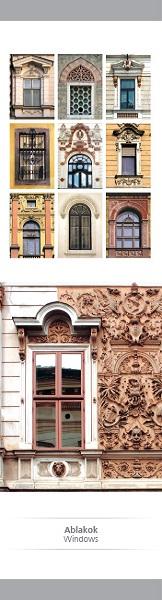 Ablakok – papír könyvjelző
