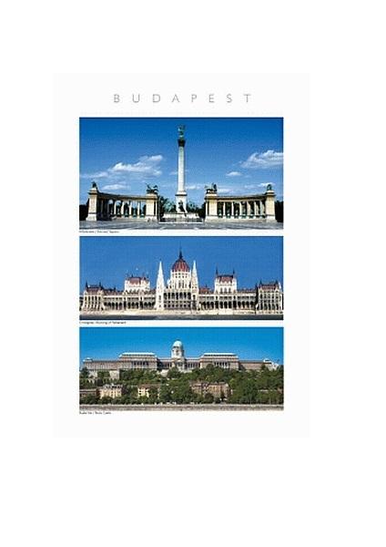 Budapest 3 képes – Poszter B4