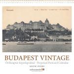Öröknaptár Budapest Vintage